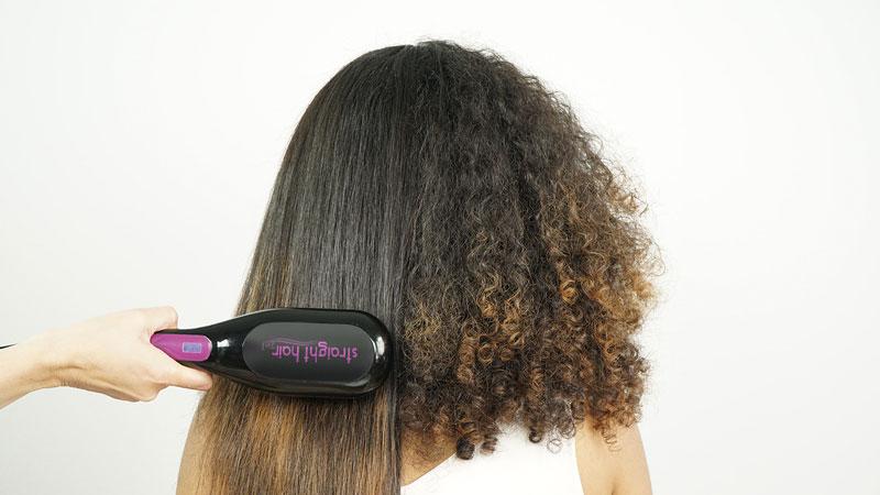 (WSI) STRAIGHT HAIR 2IN1